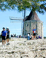 Daudet's Windmill in Provence, France